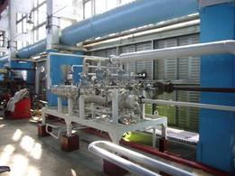 Steam jet vacuum unit