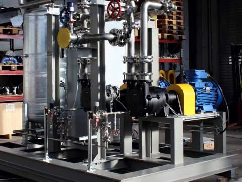 Kompaktsystem für die chemische Industrie