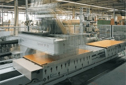Vakuumanlage in der Holzverarbeitung